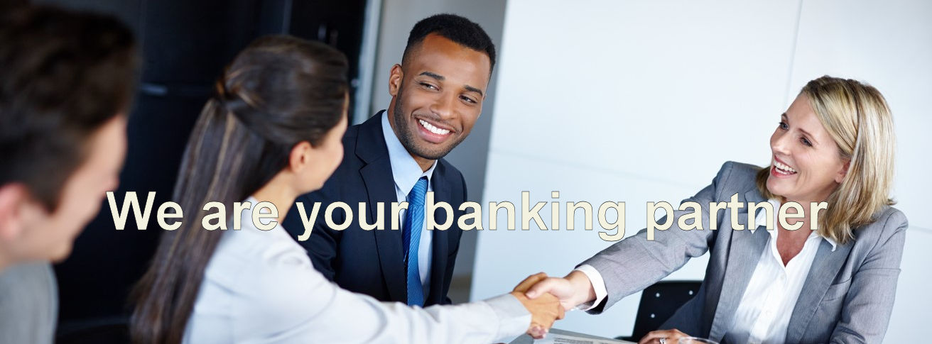 We are your banking partner